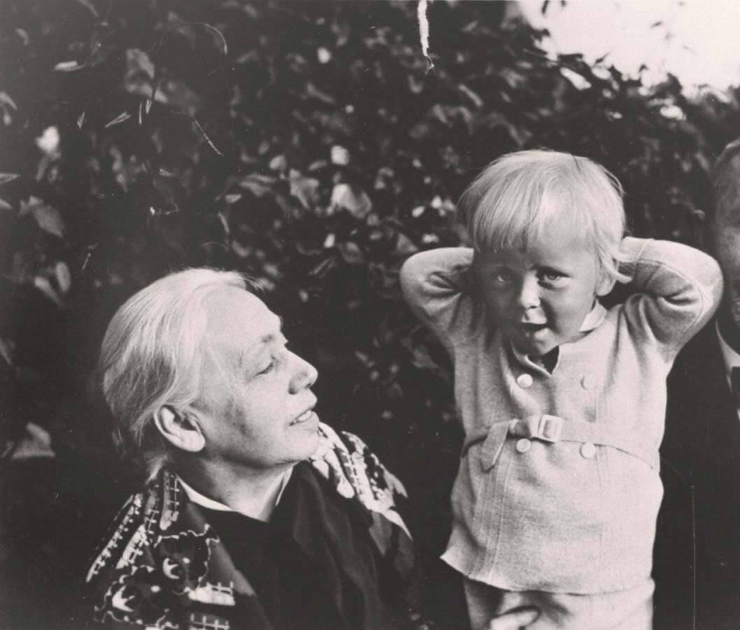 Käthe and Karlz's grandson, 1932
